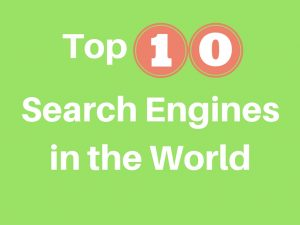 Top 10 search engines in the world