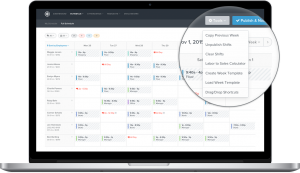 zoomshift employee scheduling software dashboard